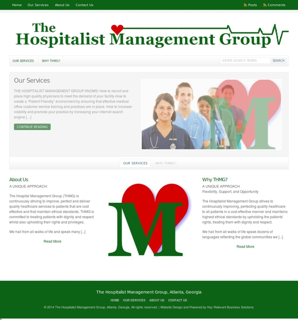 The Hospitality Management Group, Atlanta, Georgia