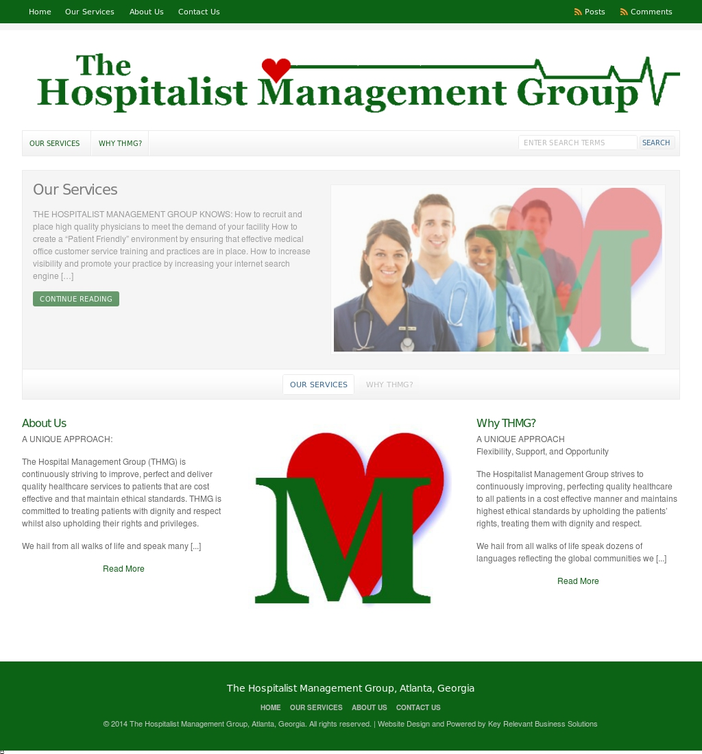 The Hospitality Management Group, Atlanta, Georgia – Healthcare: Mangement
