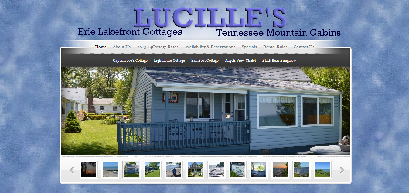 Lucille's Lakefront – Geneva on the Lake – Real Estate: Rental Cottages on Geneva on the Lake